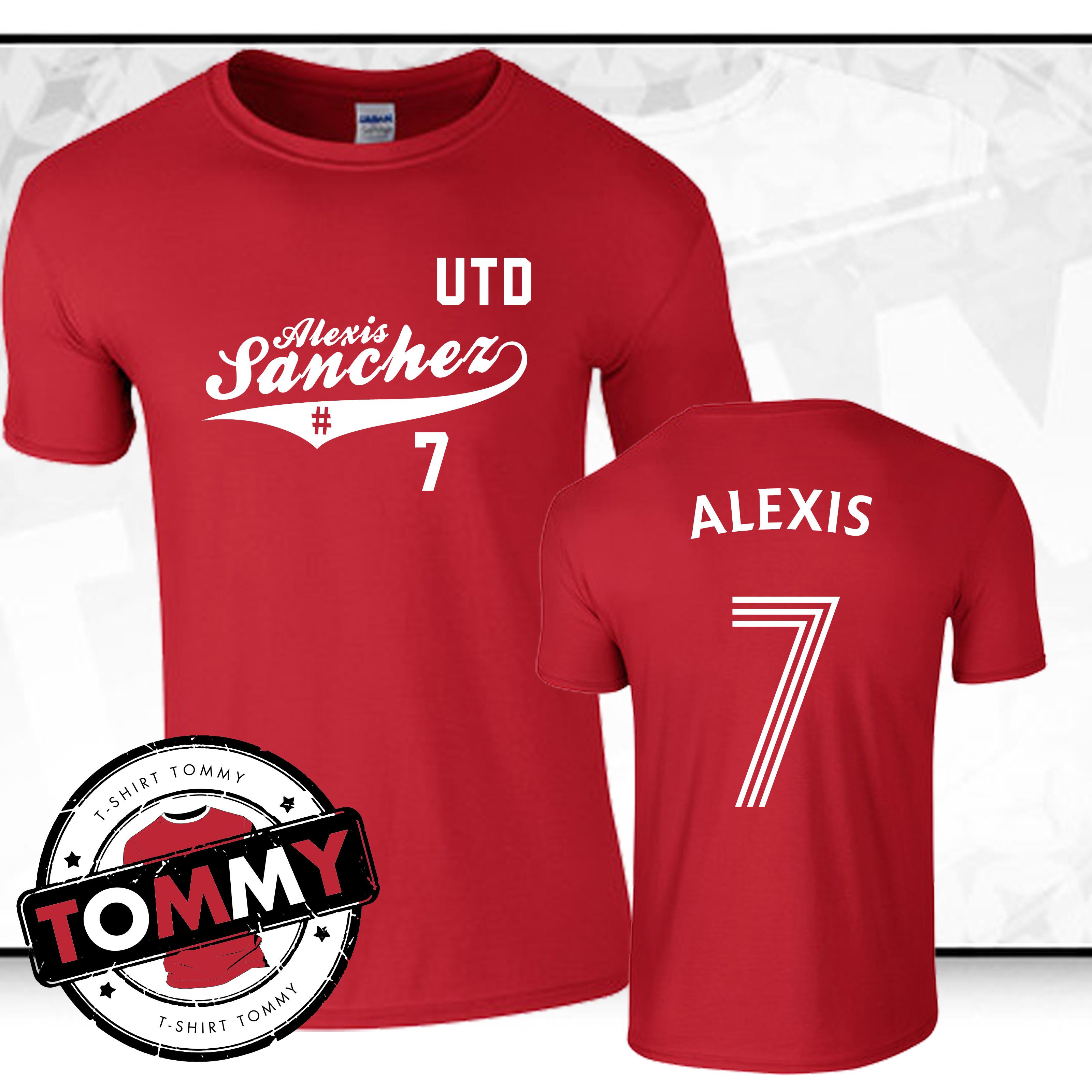 088ba4faf6d Alexis Sanchez United T-Shirt