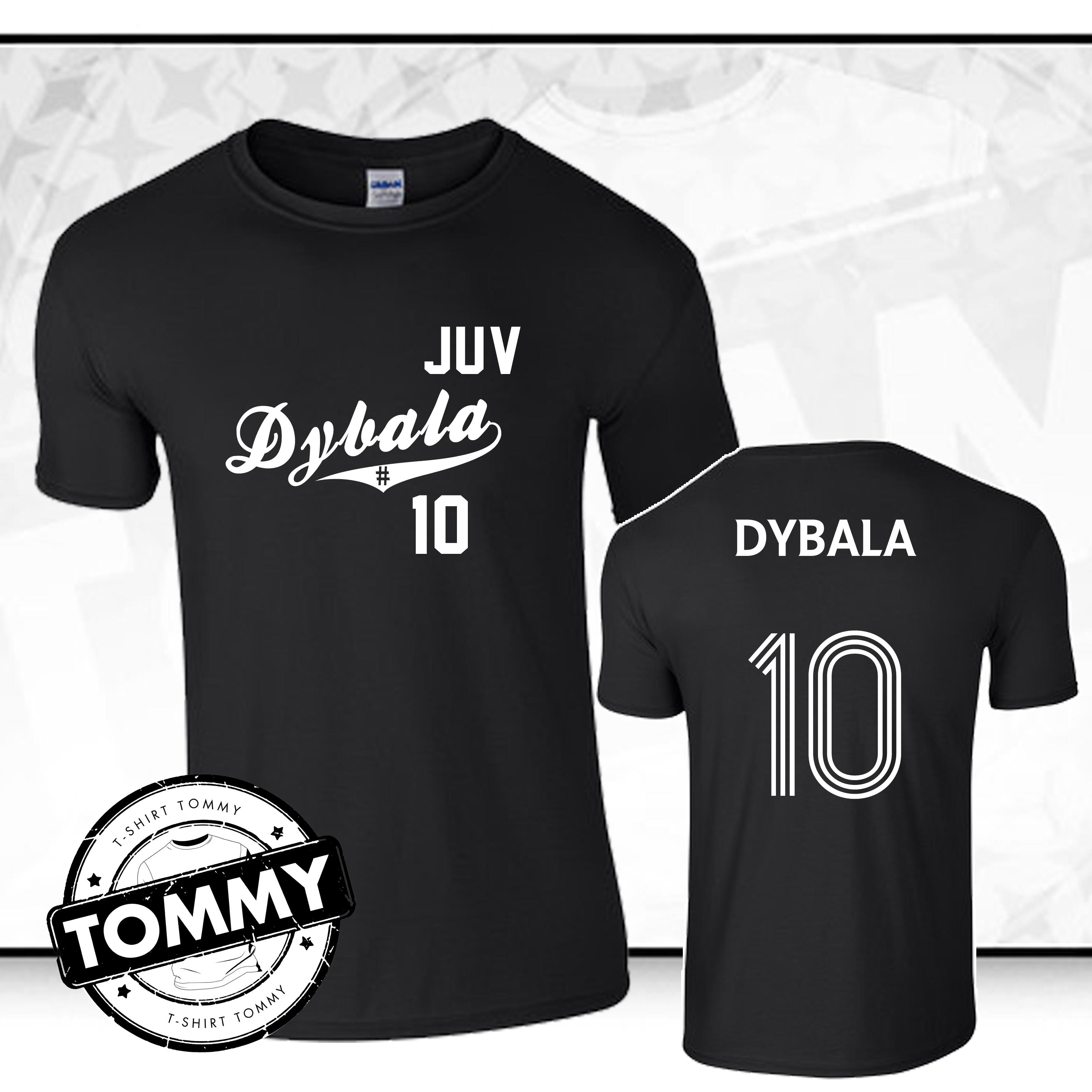 pretty nice adedb 2d081 Details about Paulo Dybala 10 t-shirt, Fan T-Shirt, Dybala # 10
