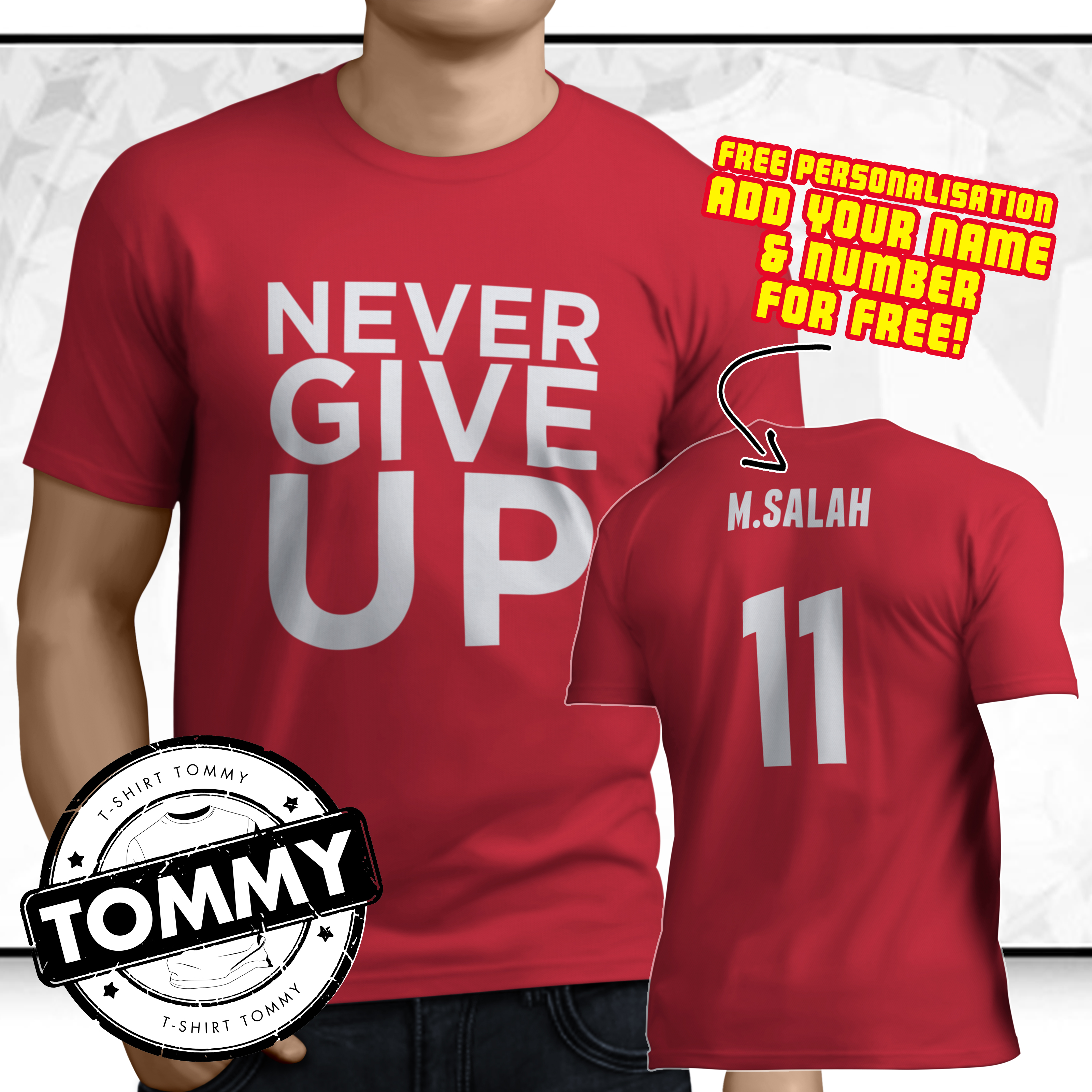 3cb61cb577e Details about Liverpool FC Never Give Up Madrid Champions League Final T- Shirt