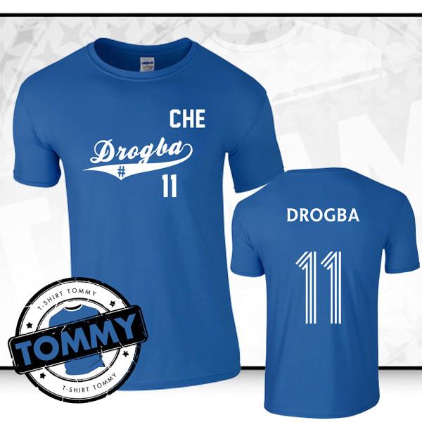 best service 547a3 58783 Didier Drogba Chelsea FC T-Shirt