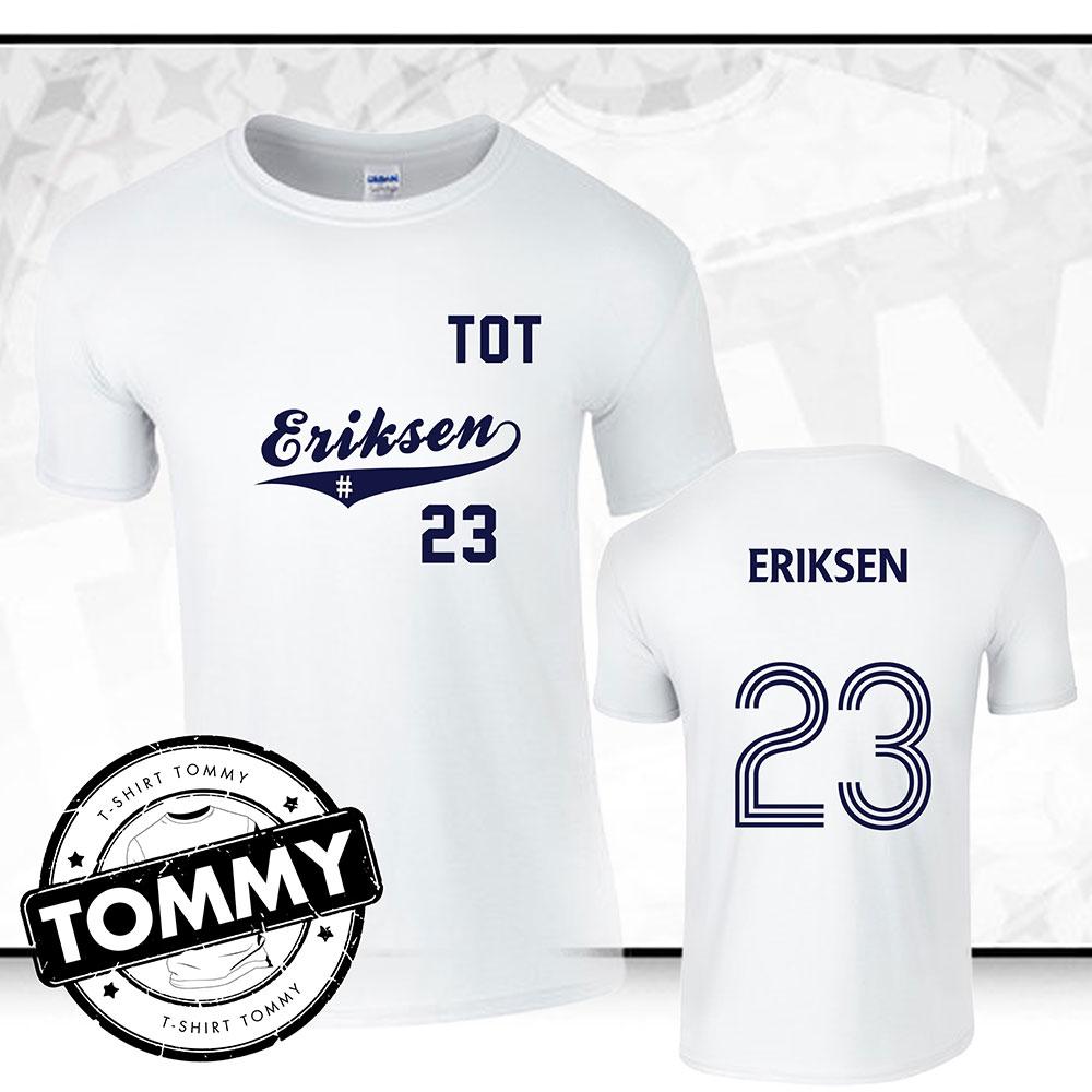 promo code 0440e fa62b Christian Eriksen Tottenham Hotspur FC T-Shirt