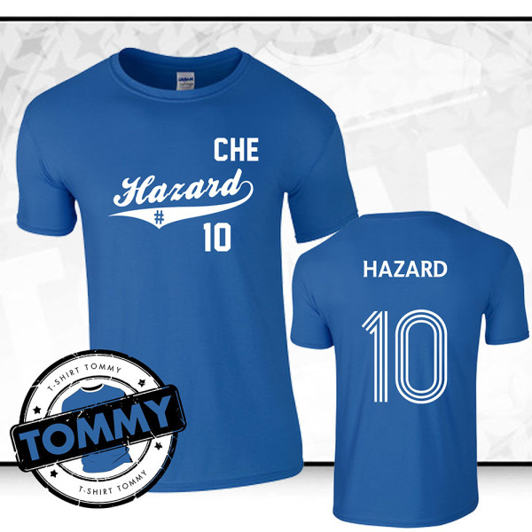 big sale 826a5 4aa80 Eden Hazard Chelsea FC T-Shirt