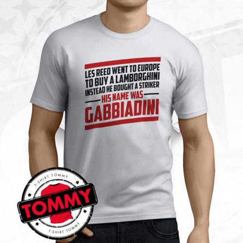 His Name Was Gabbiadini